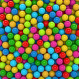 3D - Colored Balls (III)