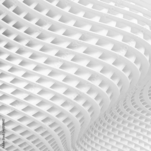 White Architecture Background © Max Krasnov