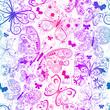 Colorful seamless grunge pattern