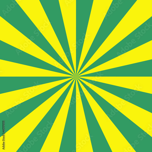 Green and Yellow Radiation