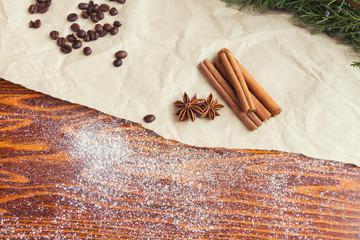 Rustic brown background