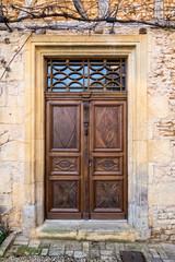 Porte d'entrée maison