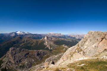 Marmolata, Sellagruppe und Lagazuoi - Dolomiten