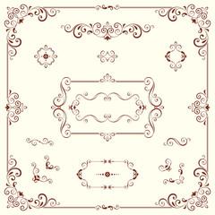 Ornate Motifs and Frames