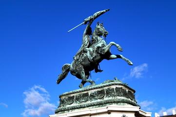 Erzherzog Karl Denkmal auf dem Heldenplatz / Wien