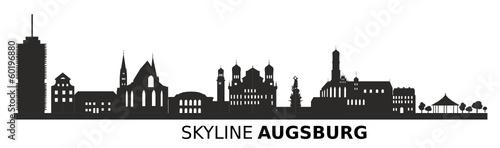 Zdjęcia na płótnie, fototapety, obrazy : Skyline Augsburg