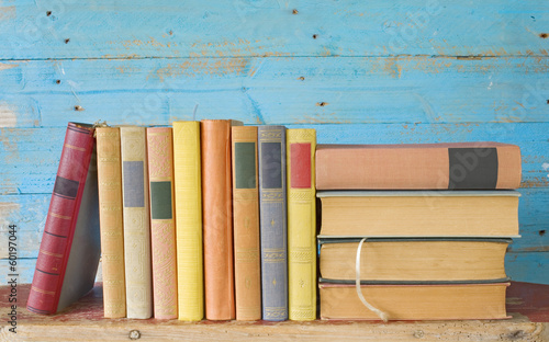 row of old books, free copy space