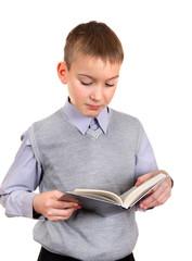 Boy reads a Book