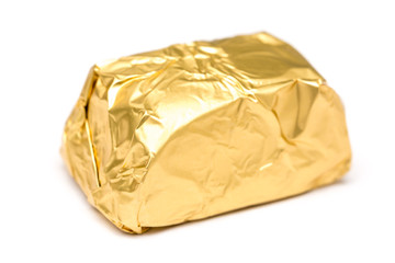 Gold Wrapped Chocolate Candy