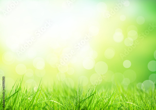 Poster Abstract floral background