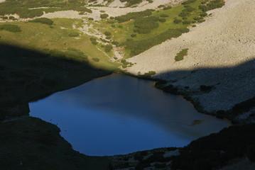 Gletschersee in den Ostkarpaten