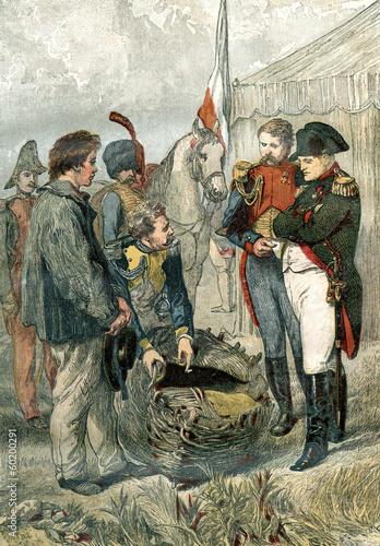 Leinwanddruck Bild Napoleon Bonaparte