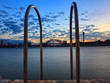 Sydney Harbour Bridge view from Balmain