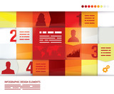 abstract presentation template
