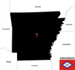 arkansas state map