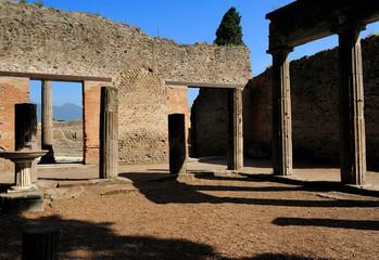ruins of roman house, Pompeii