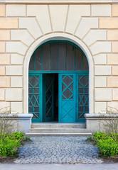 door Frame with steps