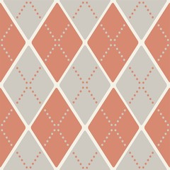 seamless retro harlequin pattern