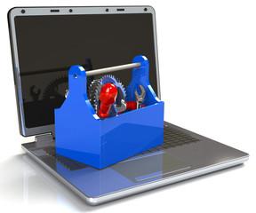 Werkzeugkasten Computer