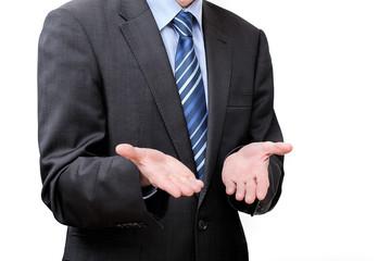 Helplessness of a businessman
