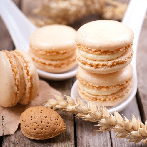 Macarons, Mandel