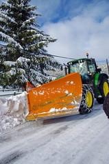 tracteur- chasse -neige