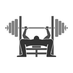 Bench Press Icon