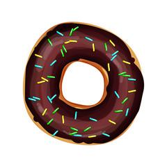 chocolate sweet donut