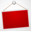 Red Sign Board