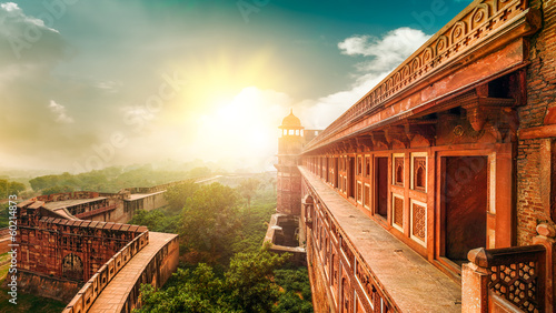 Agra Fort. Agra, Uttar Pradesh, India, Asia. - 60214873