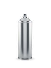 Aluminum spray paint can