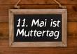 11. Mai ist Muttertag
