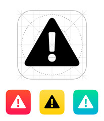 Security warning icon.