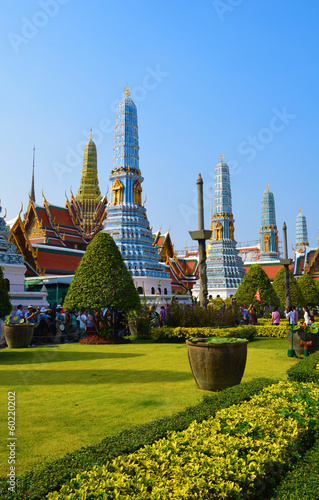wat Phra Kaeo Grand Palace - outside view