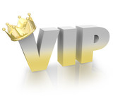 VIP Very Important Person Gold Crown Official King Executive
