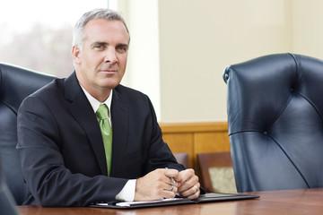 Confident Senior Business leader