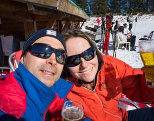 détente au ski