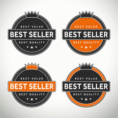 High quality best seller seals and badges