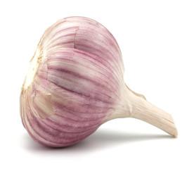 Garlic bulb isolated on white background