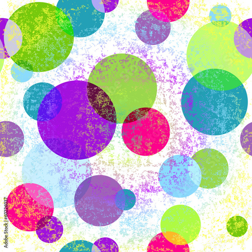 Grungy seamless colorful pattern