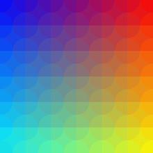 géométrique motif coloré