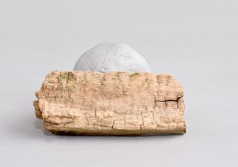 altes holz und stein