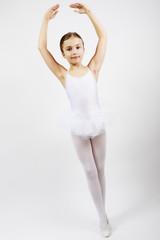 Ballet, ballerina - young and beautiful ballet dancer