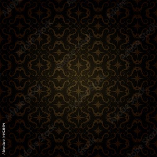Foto op Plexiglas Kunstmatig dark gold pattern