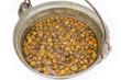 鍋でハチミツ煮にしたキンカン