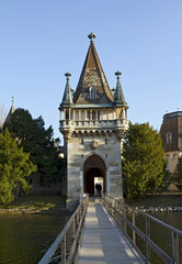 Schloss Laxenburg, on an island in a lake