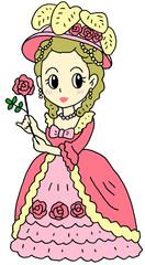 貴婦人 ピンク