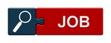 Puzzle-Button blau rot: Job