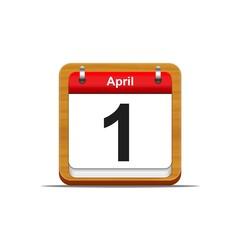1 de abril.