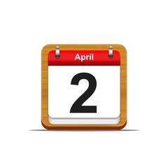2 de abril.